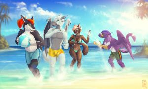 Summer time by etrii