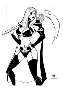 Lady death by celaoxxx