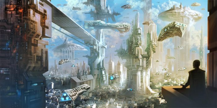 City by ClarenceBate