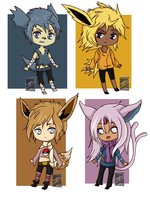 Gijinka Adopts (1/2) (CLOSED) by shaygoyle