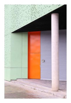 Color-Interactions in Barcelona by Einsilbig