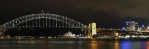 Sydney Harbour Panoramic 3 by Bobby01