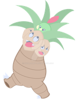 Exeggutor and Natu