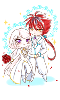 :cmm: Chibi Wedding by himawari-tan