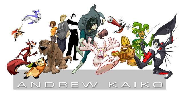 Andrewk Characters by andrewk
