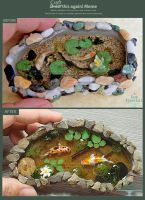 Craft This Again: Koi Pond by PepperTreeArt