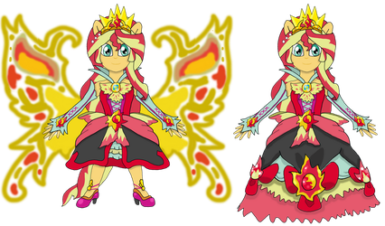 My Little Precure: Cure Empathy Mode elegant by Pokecure123