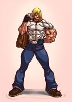 Terry Bogard GAROU - Mark of the Wolve by ashg-linkin