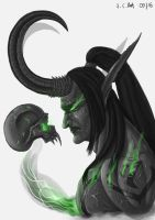 Illidan Stormrage by Samo94