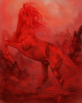 The Red Stallion by Twilight-Veil