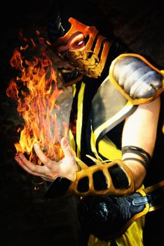 Scorpion cosplay by Hoka-no