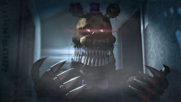 [sfm Fnaf]Nightmares lurk your halls... by Absolutelynotaspy