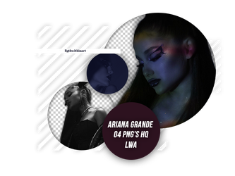 Pack Png Ariana Grande 002 by LigthWithinArt