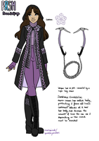 RWBY OC Team PRSM: Mauve Saxifrage by speakforyourselves