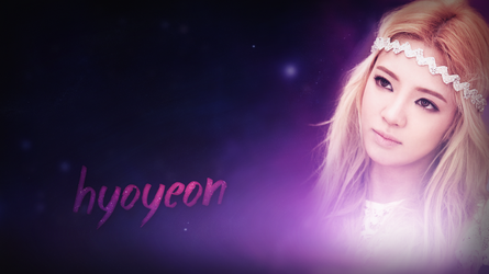 Hyoyeon (SNSD) Wallpaper #1 by Ninquo
