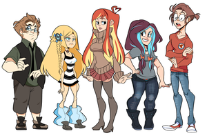 Working title lineup by geekysideburns