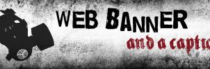 Grungy Web Banner by Cylax5