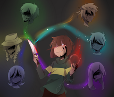 Chara from Glitchtale! by Haruan056