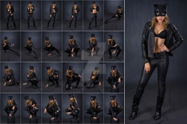 Stock: Lenay Chanel Catwoman Leather - 24 Images by stockphotosource