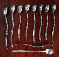 Zombie Spoons by Rajala