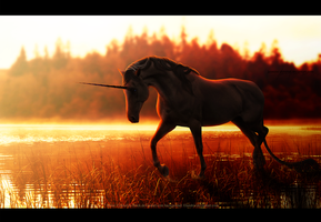 commission: Daybreak on the River Styx by jasmine-autumn