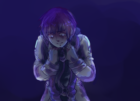 scared kaito by Tayday12