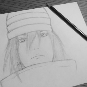 Sasuke Uchiha drawing by InvisibleIS