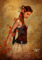 The fairy of autumn by Lili-Lou