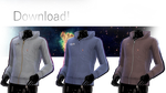 [MMD] TDA Adult Male Fitted Hoodie DOWNLOAD! by NEPHNASHINE-P