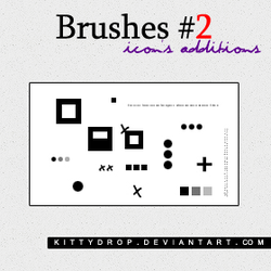 Brushes 2 - Icon's Additions by kittydrop