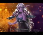 World of Warcraft: Fall of Teldrassil by Lady-Elizriel
