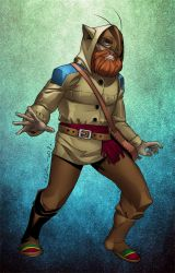 Commish : FrontiersMan by wansworld