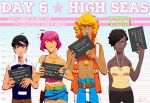 Day 6: High Seas Starting Soon! by hostage-fiver