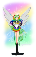 Commission: Sailor Crystal Rainbow by Ayachi-chan