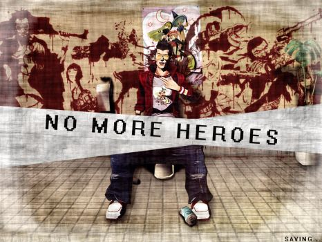 No More Heroes Wallpaper Save by Billysan291