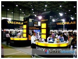 Yalcinlar Exhibition Stand Photo by GriofisMimarlik