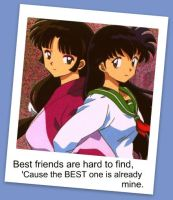 Sango and Kagome best friends by KendalLee