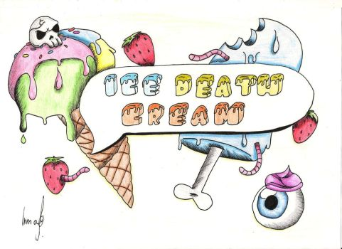 ICE DEATH CREAM. by Ingarlo