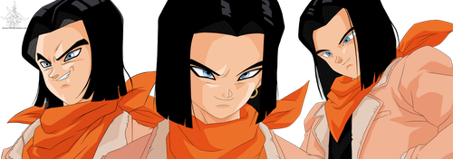 Android 17 by Zierra1986