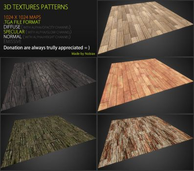 Free 3D textures pack 45 by Yughues