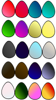 WOF Egg Adopts Hybrids and Pures OPEN 14/20 by GalaxyTheIcewing