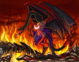 Zebulark: The Hell Mother by RenDragonClaw