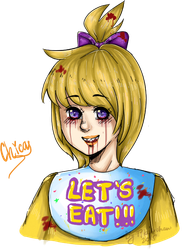 CHICA by Tikal-chan