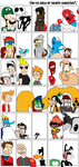 Guess my 30 favorite characters by Ryanstoons
