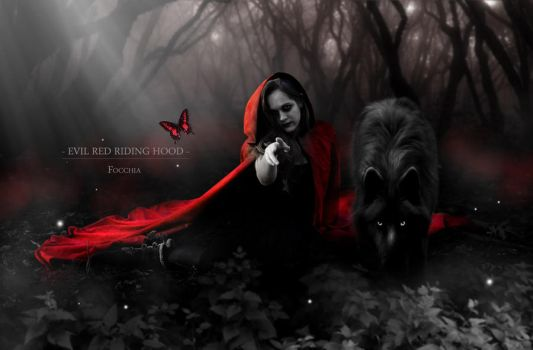 evil red riding hood by focchia