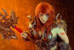 Barbarian Cosplay by Anhyra