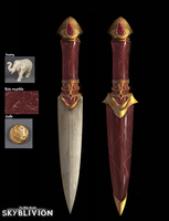 Skyblivion - Unique dagger design by RobertoGatto