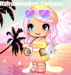 Fantage Contest Entry Summer Themed For Majestic 4 by Rainbowplum-Cerkana