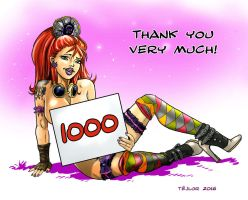 1000 by tejlor