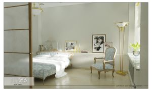 DS Bedroom 1 by GorgeB